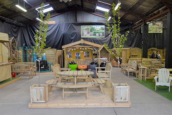 The Mill - Wooden Garden Furniture