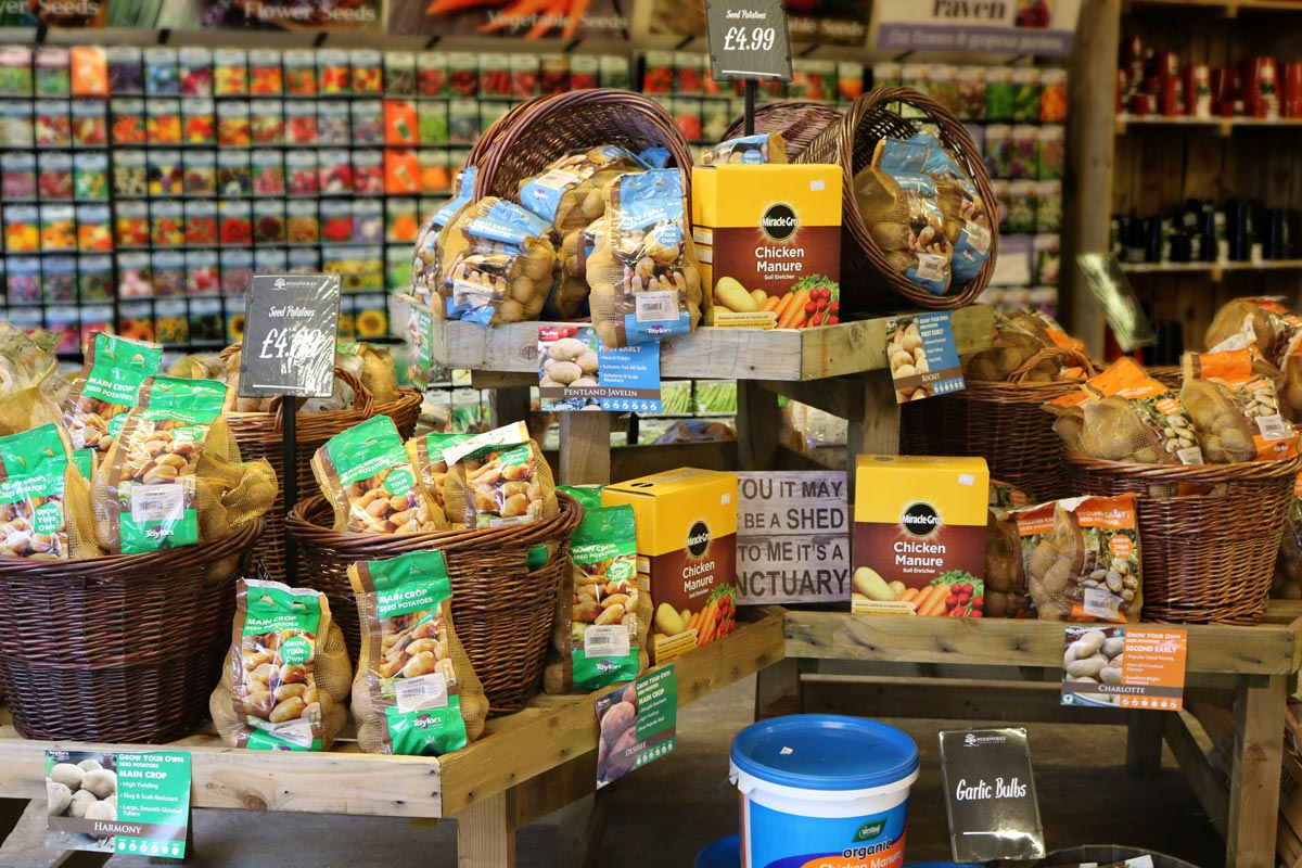 See our huge range of grow your own products at our garden centre.