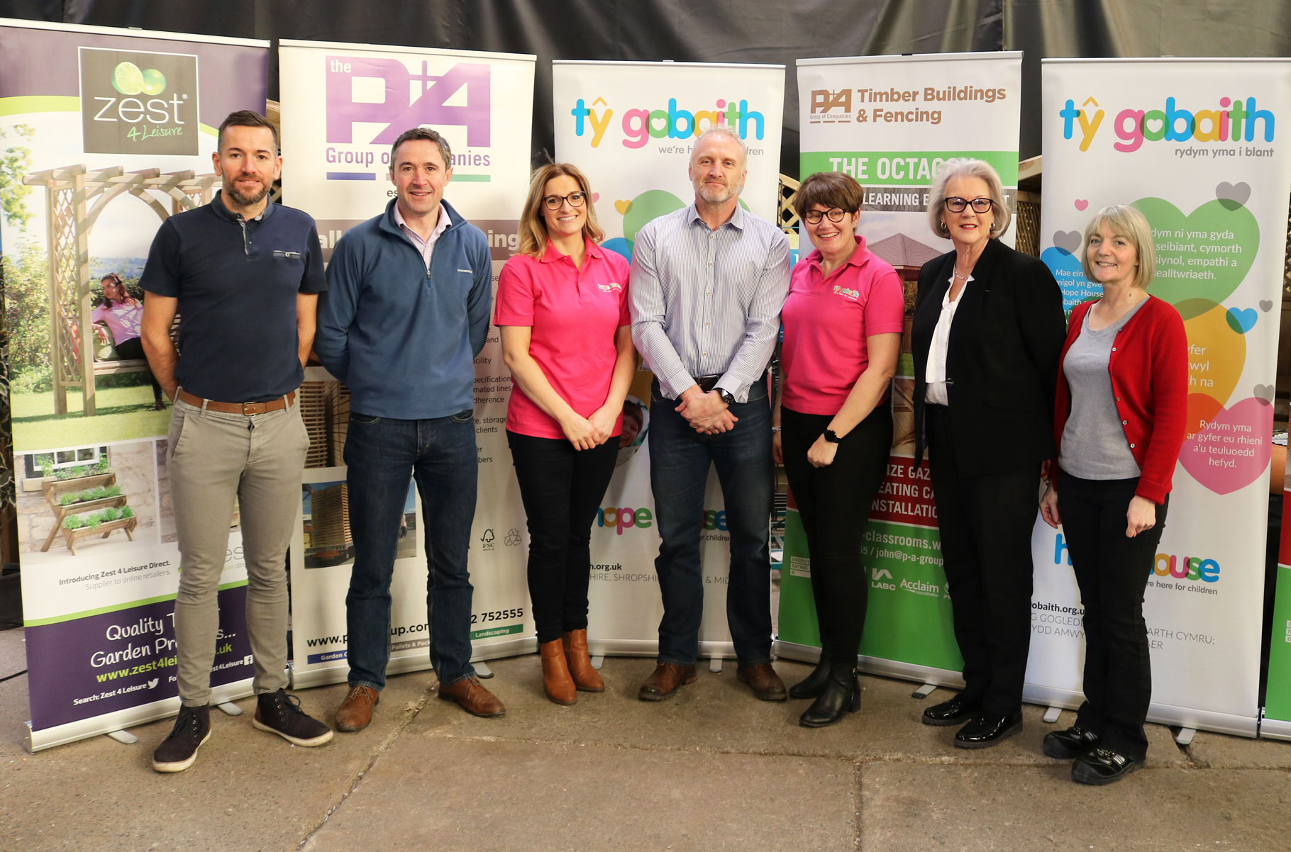 Woodworks Garden Centre in Mold announce their chosen charity for 2019